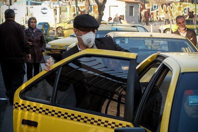 توقیف 40 تاکسی متخلف در همدان